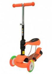 Playgame Trotinet sa svetlećim točkovima zeleni-narandžasti 25kg ( 0127133 )