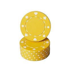 Poker žeton - Žuti ( MAN-061 YELL )