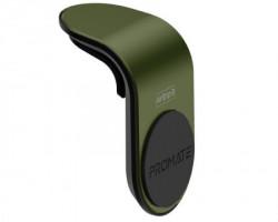 Promate AirGrip-3 Magnet držač za automobil zelena