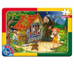 Puzzle 24 PCS FAIRY TALES 12 ( 07/50564-12 )
