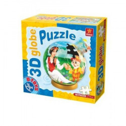Puzzle 3D GLOBE 60 FAIRY TALES 02 ( 07/67814-02 )