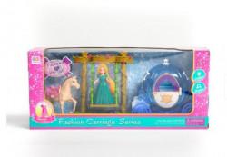Qunsheng Toys, igračka lutka sa kočijom plav ( A029590 )