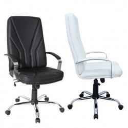 Radna fotelja - KliK 5500 CR CR LUX ( prava koža )- izbor boje