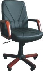 Radna fotelja - KliK 5950 (prava koža) - izbor boje kože