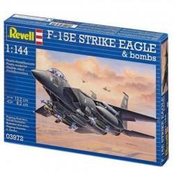 Revell maketa f-15e strike eagle & bombs ( RV03972/030 )