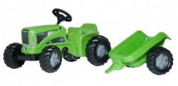 Rolly toys Futura Traktor na pedale sa prikolicom - zeleni ( 620005 )