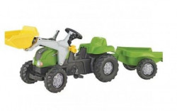 Rolly Toys Traktor kid-X sa prikolicom i utovarivačem ( 023134 )