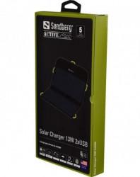 Sandberg solarni punjač 13w, 2xusb ( 2308 )