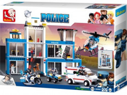 Sluban blocks, kocke, policijska stanica, 606K ( 876201 )
