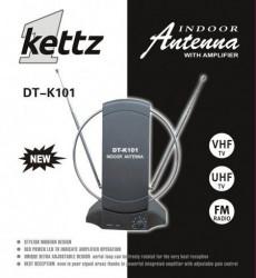 Sobna TV/FM antena Kettz DT-K101 + pojačivač ( 00K101 )