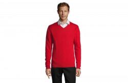 SOL'S galaxy men muški džemper na V izrez crvena XXL ( 390.000.20.XXL )