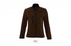 SOL'S roxy ženska softshell jakna chocholate L ( 346.800.62.L )
