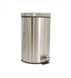 TH kanta za smeće metalna 12L - Mat siva ( 349914 )