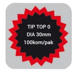 Tip Top lepak za krpljenje 0 30mm 100 kom ( 190615 )