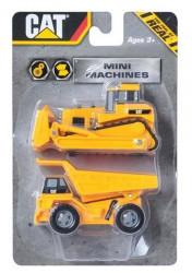 Toy State Gradevinske mašine CAT Mini Machine 7 cm, 2/1 SORTO ( 0125531 )