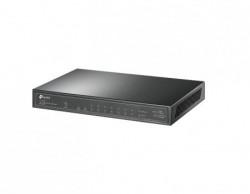 TP-Link 10-Port Gigabit POE+ switch, 8 Gigabit PoE+ Ports, 1Gigabit RJ45 port 1 Gigabit SFP Slots ( TL-SG1210P )