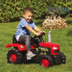 Traktor na pedale Farmer crveni - (do 7 godina)
