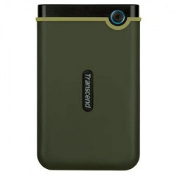 "Transcend 1TB ExternalHDD Slim form factor M3G USB 3.1 2.5"" Military Green ( TS1TSJ25M3G )"