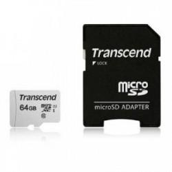 Transcend 64GB micro SD memorijska kartica TS64GUSD300S-A ( 0704626 )