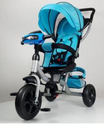 Tricikl Guralica Model 433 sa svetlosnim i zvučnim efektima - Plava