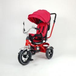 Tricikl Playtime 414 XL Roze/Crveni sa podesivim nagibom naslona