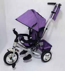 Tricikl za decu Model 02 sa rotirajućim sedištem - Ljubičasta