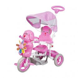 Tricikl za decu model sa kucom - pink - do 25 kg