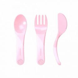 Twistshake pribor za hranjenje 6 m pastel pink ( TS78199 )