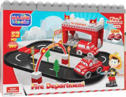 Ucar magic blocks fire department 52kom igračka ( UT94 )