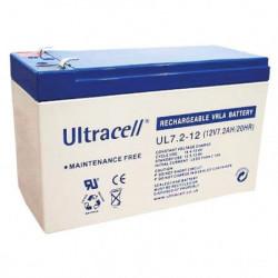 Ultracell Žele akumulator 7,2 Ah ( 12V/7,2-Ultracell )