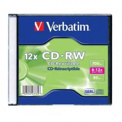 Verbatim 43148 43147 CD-RW 700MB 8-12X ( 37JC/Z )