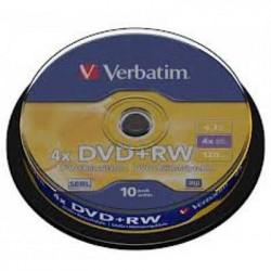 Verbatim 43488 DVD+RW 4.7GB 4X