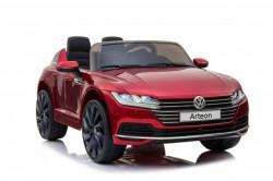 Volkswagen Arteon Licencirani auto za decu na akumulator sa kožnim sedištem i mekim gumama - Crveni