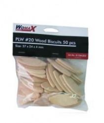 "Womax tipla drvena ""keks"" PLW br.20 50kom ( 0104052 )"