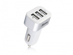 Xwave USB auto punjač za mobilne, tablete, 3 xUSB, 5V srebrno-bela ( C22-3 )