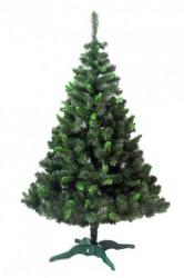 Zelena jelka sa svetlo zelenim vrhovima 220 cm