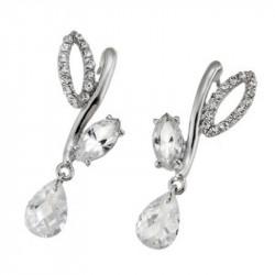 Ženske Oliver Weber Meriva Crystal mindjuše sa swarovski belim kristalom