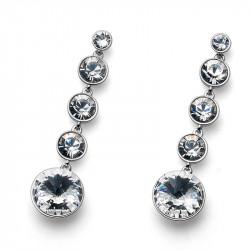 Ženske Oliver Weber Pend Crystal mindjuše sa swarovski belim kristalom