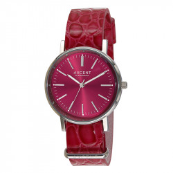 Ženski Axcent of Scandinavia Crveni Vintage ručni sat