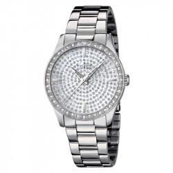 Ženski Lotus Trendy Kristal Srebrni Modni ručni sat