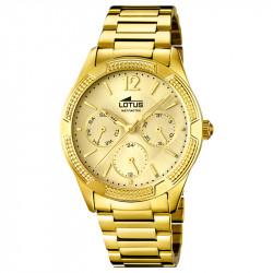 Ženski Lotus Trendy Multifunction Zlatni Sportski ručni sat