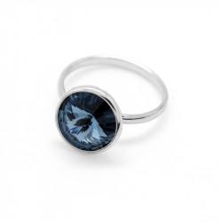 Ženski Victoria Cruz Basic M Denim Blue Prsten Sa Swarovski Plavim Kristalom