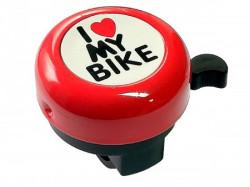 Zvono I LOVE MY BIKE crvena ( 260047 )