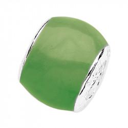 Amore Baci Pastelno Zeleni srebrni privezak za narukvicu