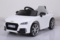 Audi TT RS Licencirani auto sa kožnim sedištima i mekim gumama - Beli
