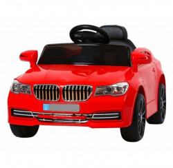 Automobil 256 na akumulator sa daljinskim upravljanjem - Crveni