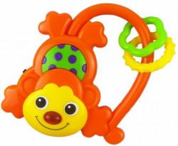 Baby Mix zvečka muzička majmun narandžasta ( A016449 )