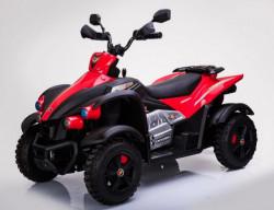 Bagi 270 Auto na akumulator sa mekim sedištem i gumama od Eva pene - Crveni