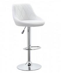 Barska stolica 5015 od eko kože - Bela