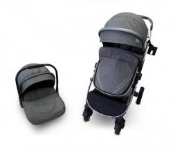 BBO Kolica za bebe bbo set sprinter - dark grey ( 808CSIAS )